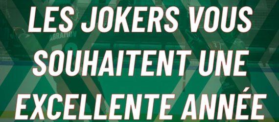 Bonne année 2021 – Les Jokers de Cergy-Pontoise