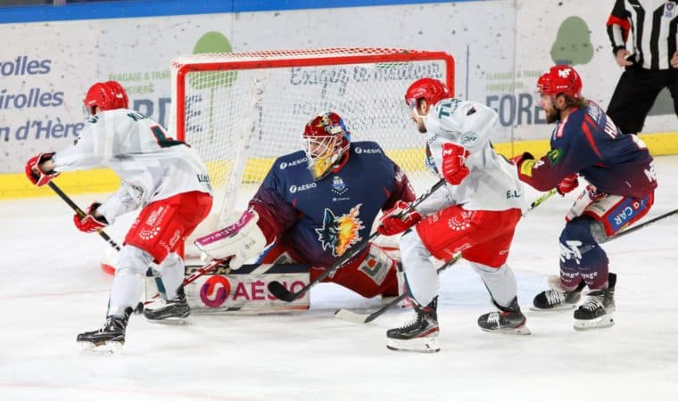 14ème Journée Synerglace Ligue Magnus -Cergy-Pontoise vs Grenoble