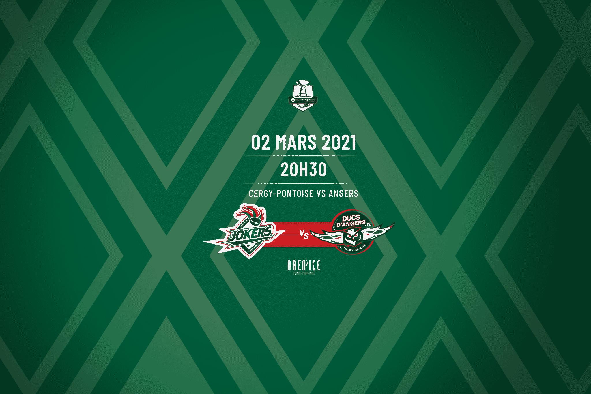Cergy-Pontoise vs Angers - 020321