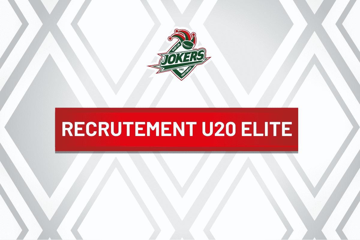 Recrutement U20 Elite