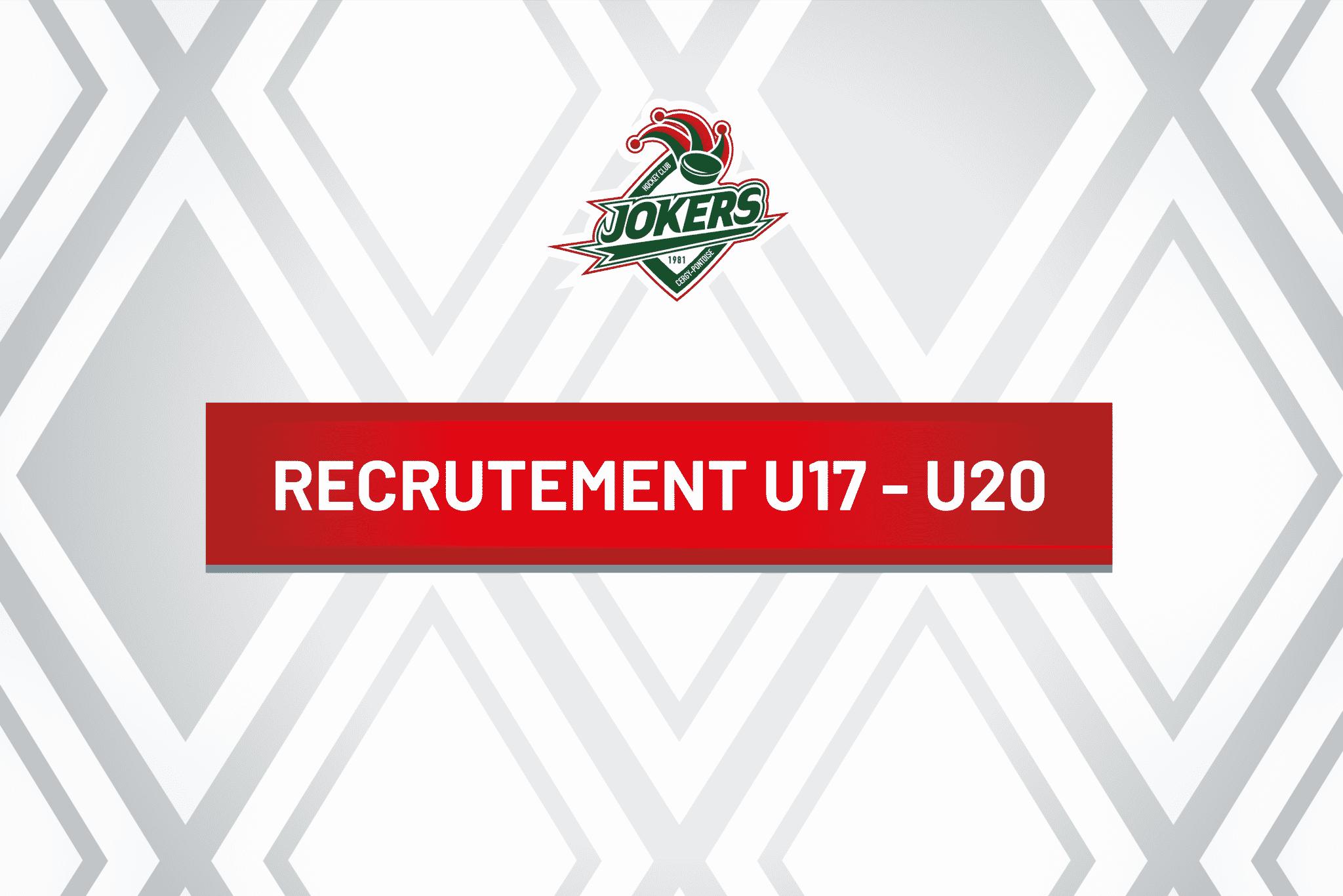 Recrutement U17-U20